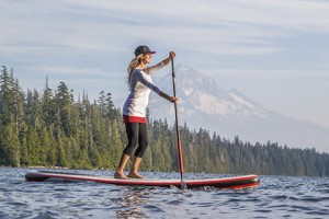 Women Riding All Around SUP Board