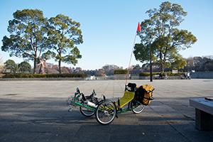 A Greenspeed GTX Recumbent Trike